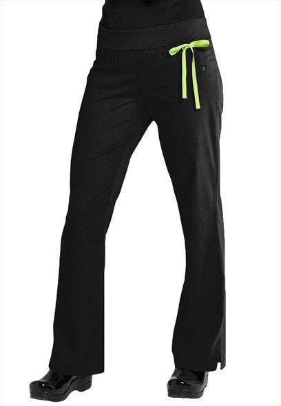 Urbane Sport knit roll top scrub pants.