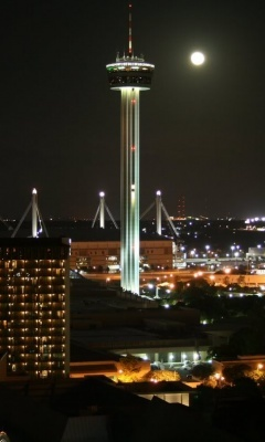 Space Needle in San Antonio, TexasSpaces Needle, Favorite Places, Night View, Towers, Texas, Google Search, San Antonio, Breathtaking View, Sanantonio