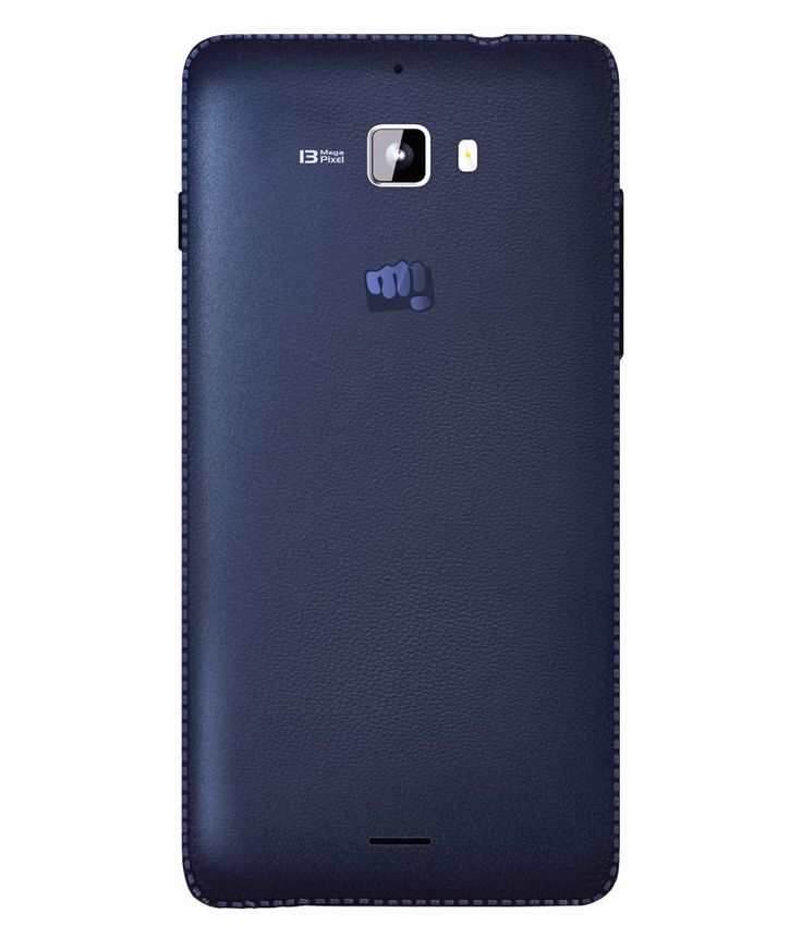 Micromax Canvas Nitro A310 mobile phone back side panel.