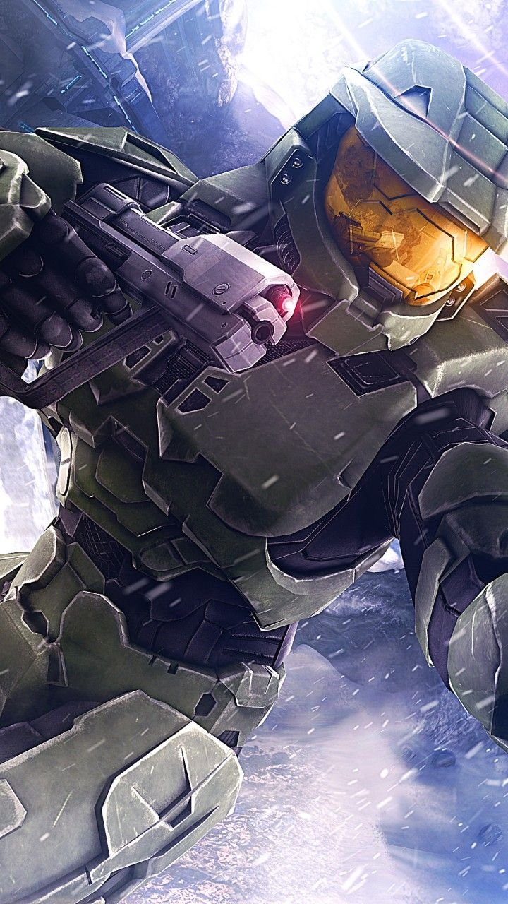 Halo5 Master Chief Phone Wallpaper