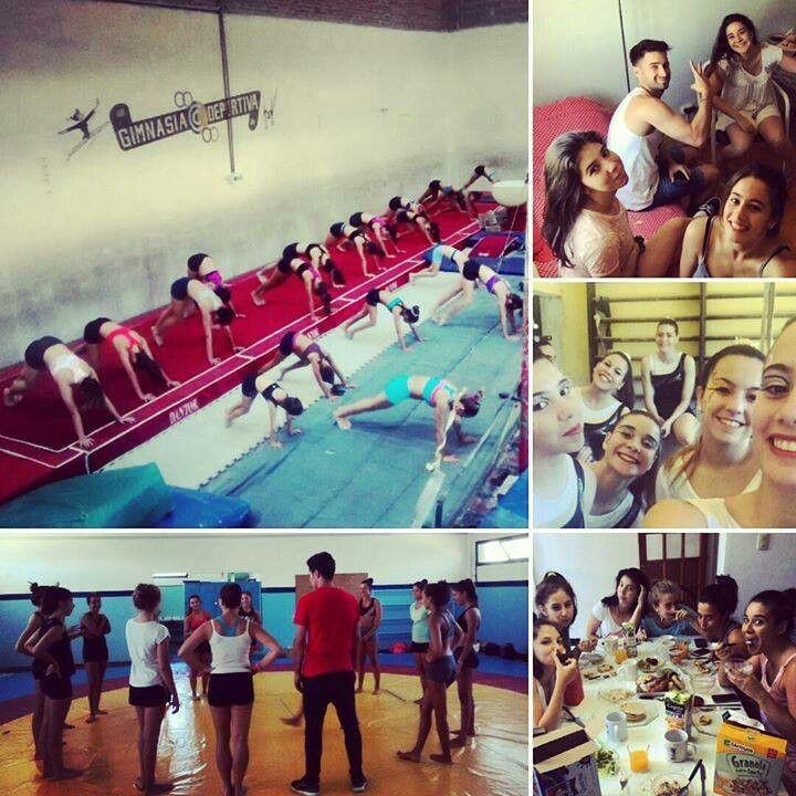 Equipo Mayor y Juvenil C/B - Gym Artística