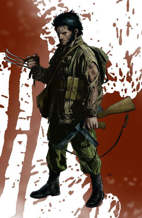 Wolverine por Travis Charest