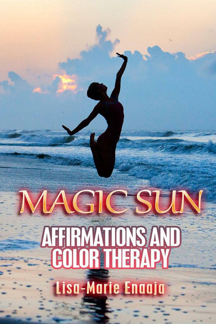 Magically Powerful Sun Affirmations with Color therapy Book by Lisa-Marie Enaaja