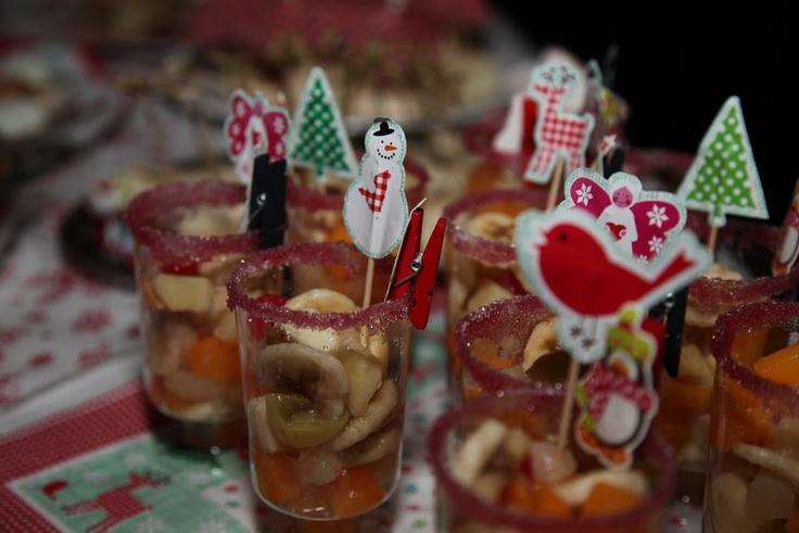 Fruitsalade #kerstdiner #kinderen #fruit