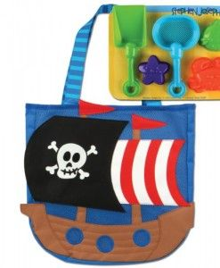 Stephen-Joseph-Pirate-Beach-Tote #hammering toys #pounding toys #kids toy #cheap toys online #cheap kids toys #best kids toys #unique kids toys #toys for toddler boys #toys for children