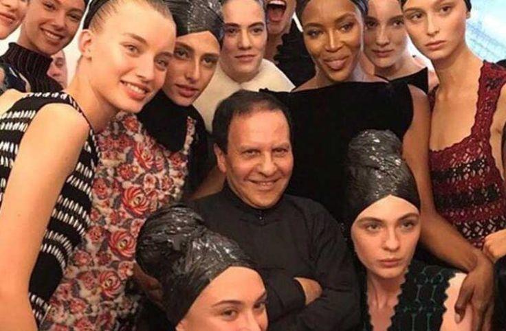El reconocido diseñador Azzedine Alaïa murió durante la mañana
