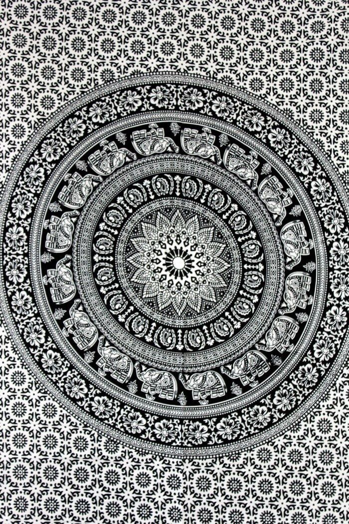Indian Mandala tapestry hippie Hippy Cotton wall hanging Bohemian dorm decor 3D | Home & Garden, Home Décor, Tapestries | eBay!