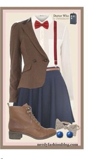 Doctor who outfit... halloween? I could totally go as 11 :)