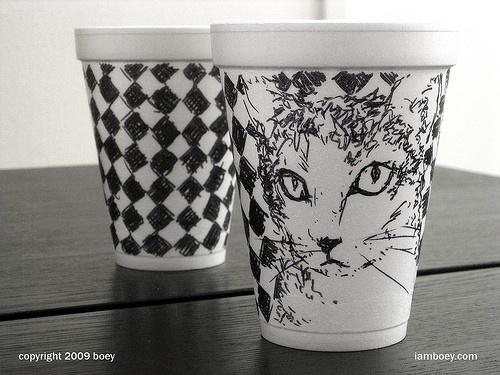 miau by boyobsolete on Etsy  #cat #illustration #drawing