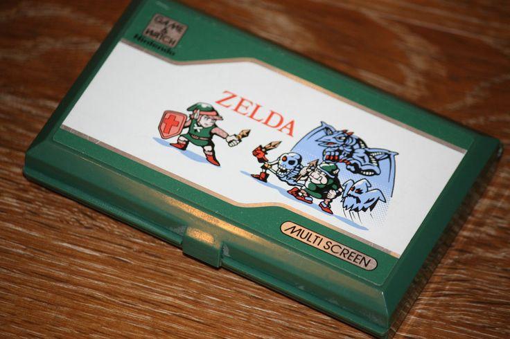1989 Vintage ZELDA Game & Watch NINTENDO Handheld LCD Electronic WORKING Digital