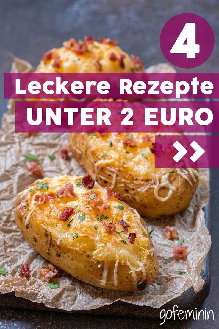 Viel Geschmack für wenig Geld: 4 leckere Gerichte unter 2 Euro!