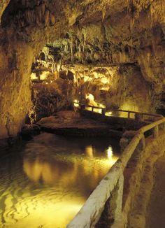Cueva de Valporquero. Localizada en Vegacervera, Castlla-Leon Spain