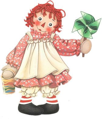 Another one as I remember Raggedy Ann..m