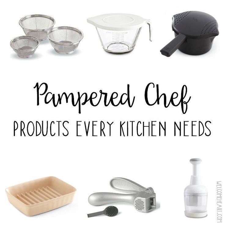 Top 11 Pampered Chef tools every kitchen needs, via Sue Donaldson over at welcomeheart.com