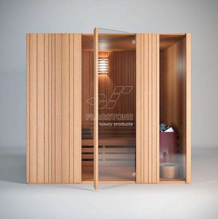 Sauna finlandeza - PREMIERE @ FLAGSTONE - smart products