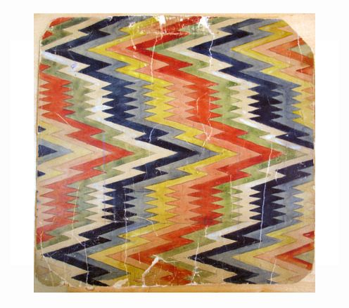 Swedish weave pattern in paper from Kulturlagret – Västarvet, via Fine little day blog