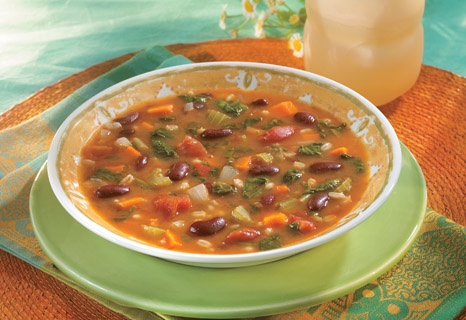 Campbell's Kitchen: Hearty Bean & Barley Soup