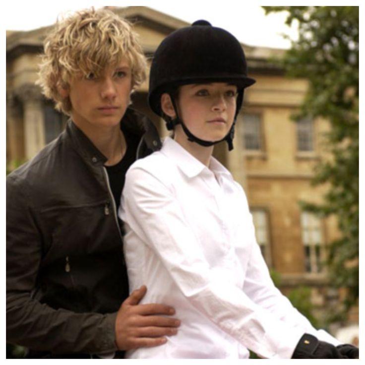 Sabina Pleasure and Alex Rider
