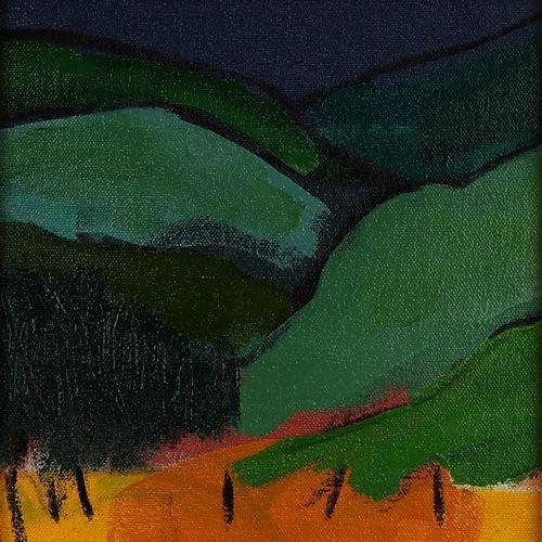 Landscape oil painting 07-077