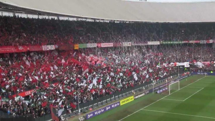 Feyenoord-Ajax de Kuip ontploft 4-2 (29-1-2012)
