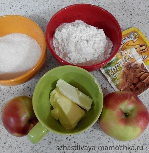 Рецепт очень простого яблочного пирога | Счастливая мамочка блог