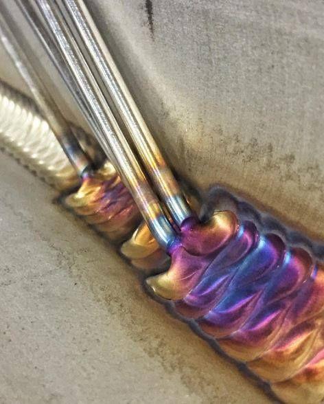 Amazing tig welding by @Starclassic  #westcoweld #tigwelding #weldporn