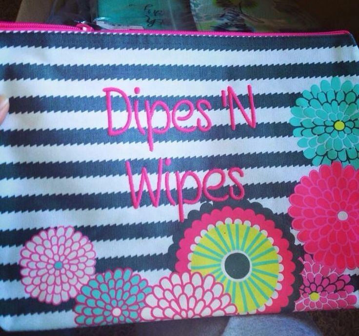 The Zipper Pouch is the perfect place to stick those baby essentials! Holds 22 diapers and a pack of wipes. Get yours at www.mythirtyone.com/jmeherman