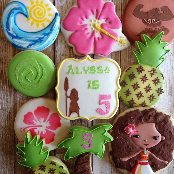 Best 25+ Moana Cookies Ideas On Pinterest