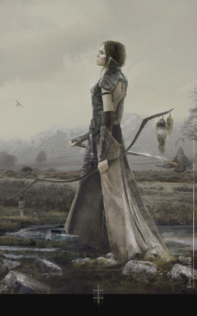Eve Ventrue | Beautiful Fantasy Art That Deserves To Hang On A Wall