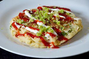 Okonomiyaki (Japanese Pizza)