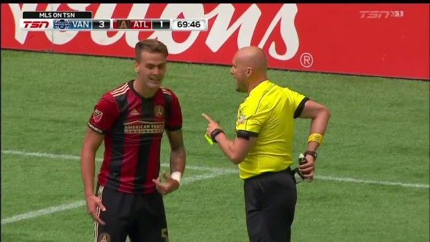 #MLS  YELLOW CARD: Leandro Gonzalez Pirez with a late tackle