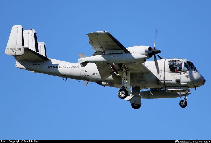 N10VD Private Grumman OV-1 photographed at West Palm Beach Palm Beach International (PBI / KPBI) by Mark Pollio