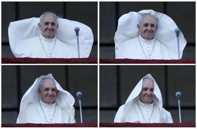 hahahaha I love Pope Francis