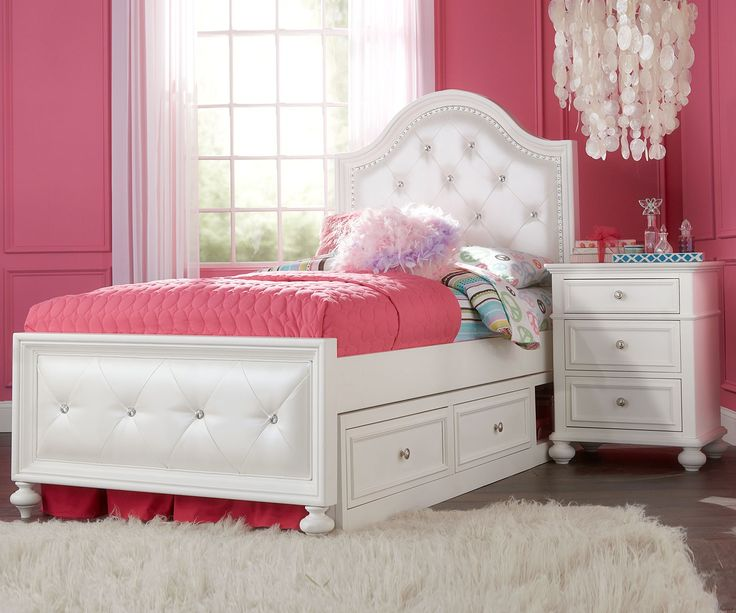 Legacy Classic Kids Furniture Madison Upholstered Bed Full Size 2830-4704K