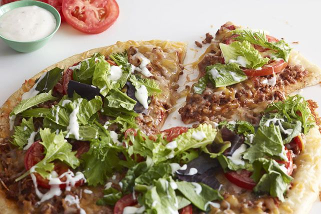 This one wants pizza. That one wants tacos. And the other one wants a nice green salad. How to please them all? This recipe, right here.