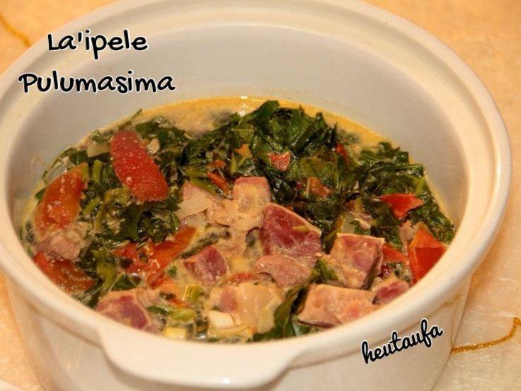 Tongan Food - La'ipele Pulumasima