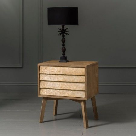 Giogio Natural Bedside Table - View All Furniture - Furniture - Furniture