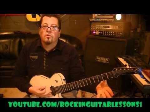 How to play One by Metallica on guitar by Mike Gross(rockinguitarlessons...