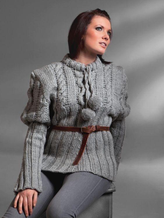 Damtröja  #vikingofnorway #knittingroom #stickat #garn #damtroja #troja
