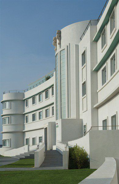 The Midland Hotel, Morecambe, UK, where many an episode of 'Poirot' was filmed...