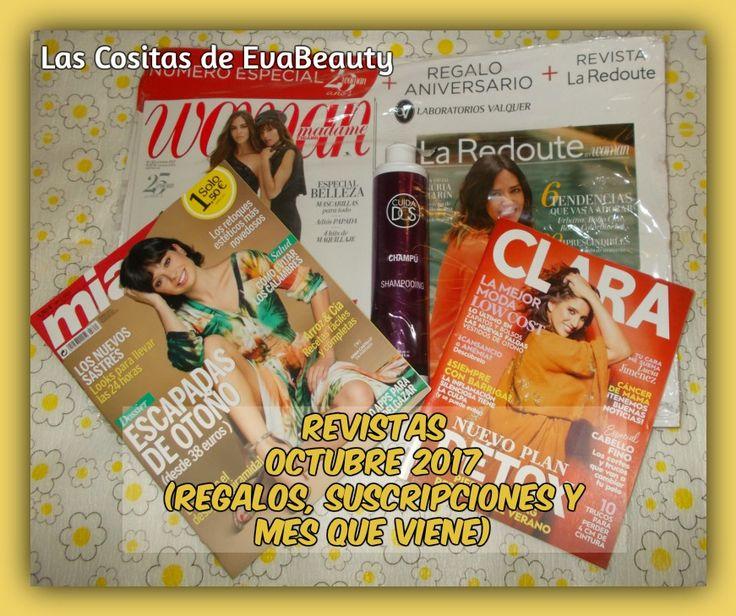 Hola amores!!!! Ya estan a la venta las revistas de octubre y hoy toca post con ellas. Os espero en el blog con toda la información. Besotes. #lascositasdeevabeauty #revistas #news #fashionnews #revistasoctubre #belleza #beauty #makeup #maquillaje #moda #blog #blogger #beautyblog #beautyblogger #beautybloggers #bloggerbelleza #bloggerespaña #beautyaddict #fashion