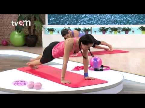 Ebru Şallı İle Pilates Egzersizleri 26.Bölüm - YouTube