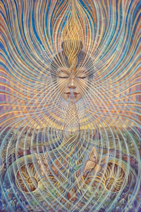 The Divine Feminine forces are returning to the world. They are awakening the souls of those with the awareness and sensitivity to hear Her call. Let's join together and ask the right questions and share the beauty, the wonder, the awesome magnificence which is the Goddess Returning and Rising. - Art: Regeneration