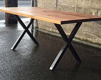 modern reclaimed dining table