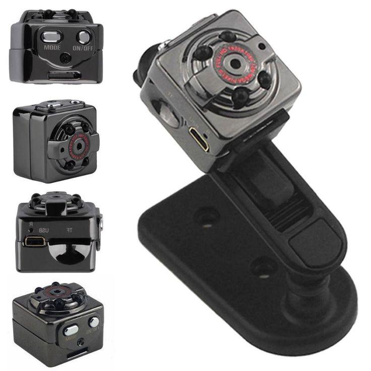 Triclicks Motion Detection Camcorder Car DVR Cameras Otus SQ8 Ultra Mini Car DVR 1080P Full HD Class 10 Video Recorder DV Camera #Affiliate