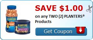 New Coupon!  Save $1.00 on any TWO (2) PLANTERS® Products - http://www.stacyssavings.com/new-coupon-save-1-00-on-any-two-2-planters-products/