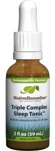 Sleep Tonic™ - Homeopathic Remedy to Relieve Insomnia Symptoms