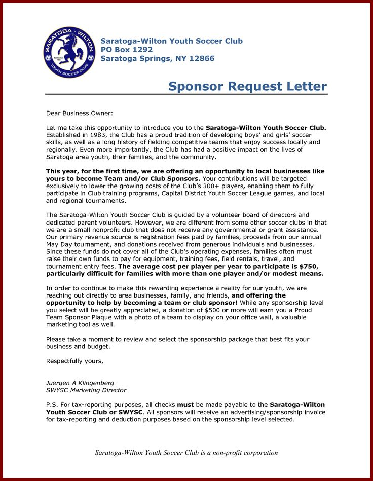 sample letter request for charity sponsorship funding march welcome amp youthdear sir madam name alyce