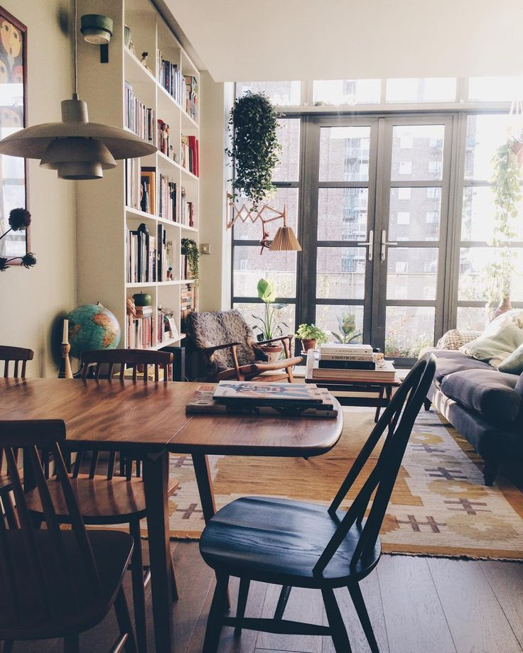 Friday U003d Clean Flat Day By Weareherenow On Instagram · Apartment BookshelvesOne  Room ApartmentLiving ... Part 54