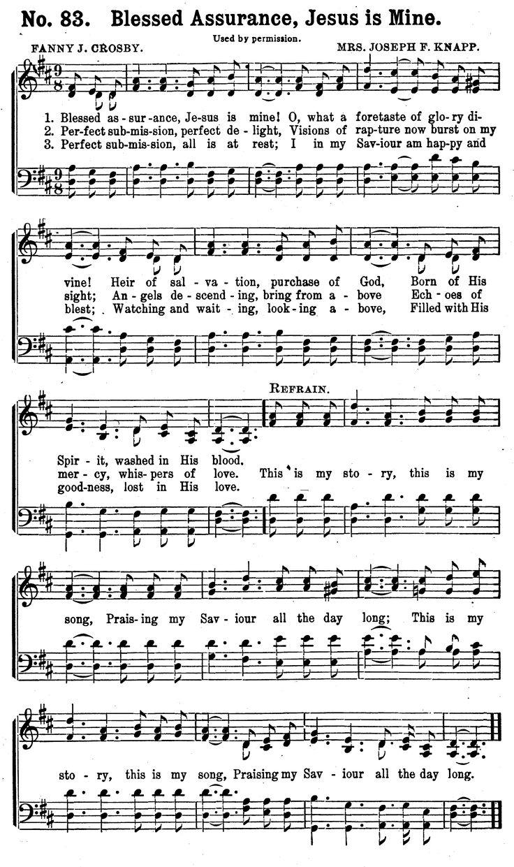 Hymn Lyrics – Your Favorite Gospel Song Lyrics